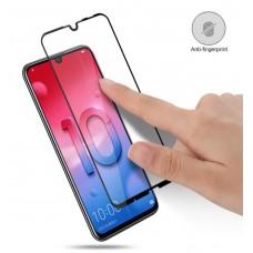Защитное стекло 5d полной проклейки Full glue для Huawei P Smart 2019 / Honor 10 lite черное