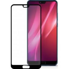 Защитное стекло 3d на весь экран для Huawei Honor 10 , черное