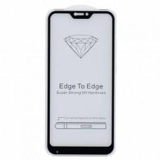 Защитное стекло 5d полной проклейки Full glue для Xiaomi Mi A2 Lite / Redmi 6 Pro черное