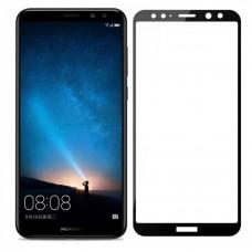 Защитное стекло 5d полной проклейки Full glue для Huawei Mate 10 Lite черное