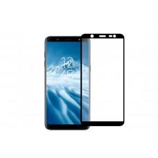 Защитное стекло Full Screen 3D для Samsung Galaxy J6 (2018), черное