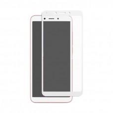 Защитное стекло 5d полной проклейки Full glue для Xiaomi Redmi 6/6A белое