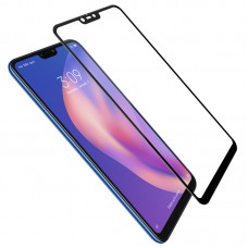 Защитное стекло 3d на весь экран для Xiaomi Mi 8 Lite черное