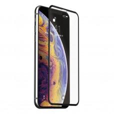 Защитное стекло Full Screen 5D для Apple iPhone X / XS, черное