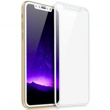 Защитное стекло 3d на весь экран для Huawei P20 Lite, белое