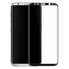 Защитное стекло 3d на весь экран для Samsung Galaxy S8 Plus (G955), черное
