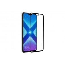 Защитное стекло 3d на весь экран для Huawei Honor 8X, черное