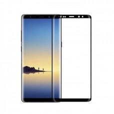 Защитная пленка на весь экран для Samsung Galaxy S8 Plus (G955), черная рамка