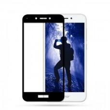 Защитное стекло на весь экран для Huawei Honor 6A, черное