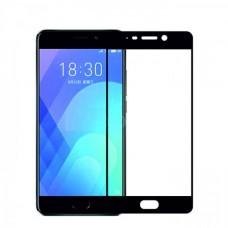 Защитное стекло 3d на весь экран для MEIZU M6 Note, черное
