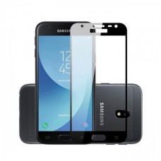 Защитное стекло 3d на весь экран для Samsung Galaxy J2 (2018) J250F черное