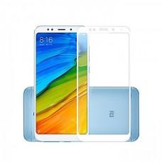 Защитное стекло Full Screen 5D для Xiaomi Redmi 5 Plus белое