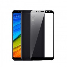 Защитное стекло Full Screen 5D для Xiaomi Redmi 5 Plus черное