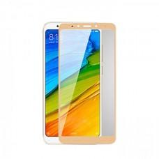 Защитное стекло Full Screen 3D для Xiaomi Redmi 5 Plus золото