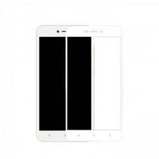 Защитное стекло на весь экран для Xiaomi Redmi 5A, белое