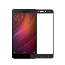 Защитное стекло 5D полной проклейки Full glue для Xiaomi Redmi Note 4 черное