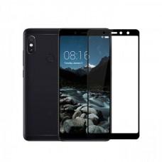 Защитное стекло 5d полной проклейки Full glue для Xiaomi Redmi S2 черное