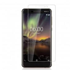Защитное стекло для Nokia 6 (2018), прозрачное