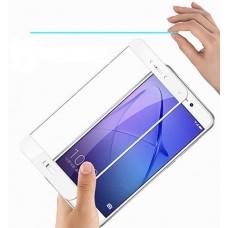 Защитное стекло 3d на весь экран для Huawei P10 lite, белое