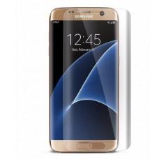 Защитное стекло 3D на экран Samsung Galaxy S7 Edge [G935], прозрачное