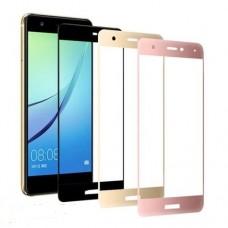 Защитное стекло 3d на весь экран для Huawei P10 Plus