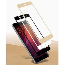 Защитное стекло 3d на весь экран для Xiaomi Redmi Note 4 Full Screen