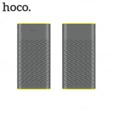 Внешний аккумулятор Hoco B31A 30000 mAh (USB1 выход: 5V/2.1A, USB2 выход: 5V/2.1A) серый